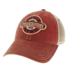 Red Vintage Trucker Hat