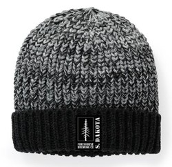 Hat - Black and Grey Beanie