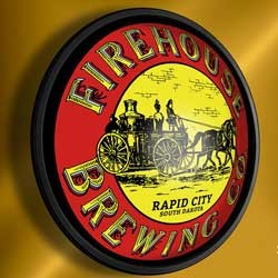 Firehouse Brewing Co. lighted pub sign