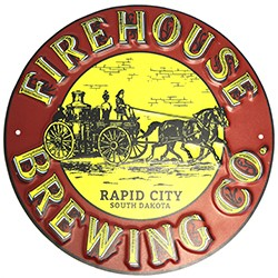 Firehouse Brewing Co. Metal Sign